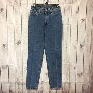 Denim - Vintage LevIs 512 Slim Fit Tapered Leg Mom Jeans 9